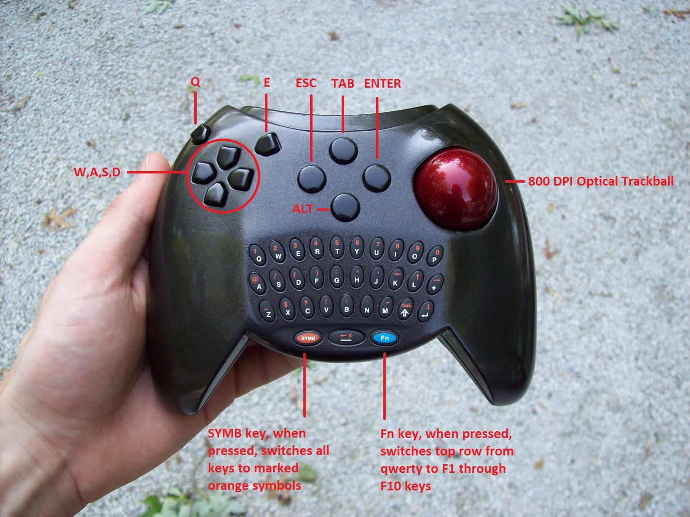 Keyball Controller Dufentech